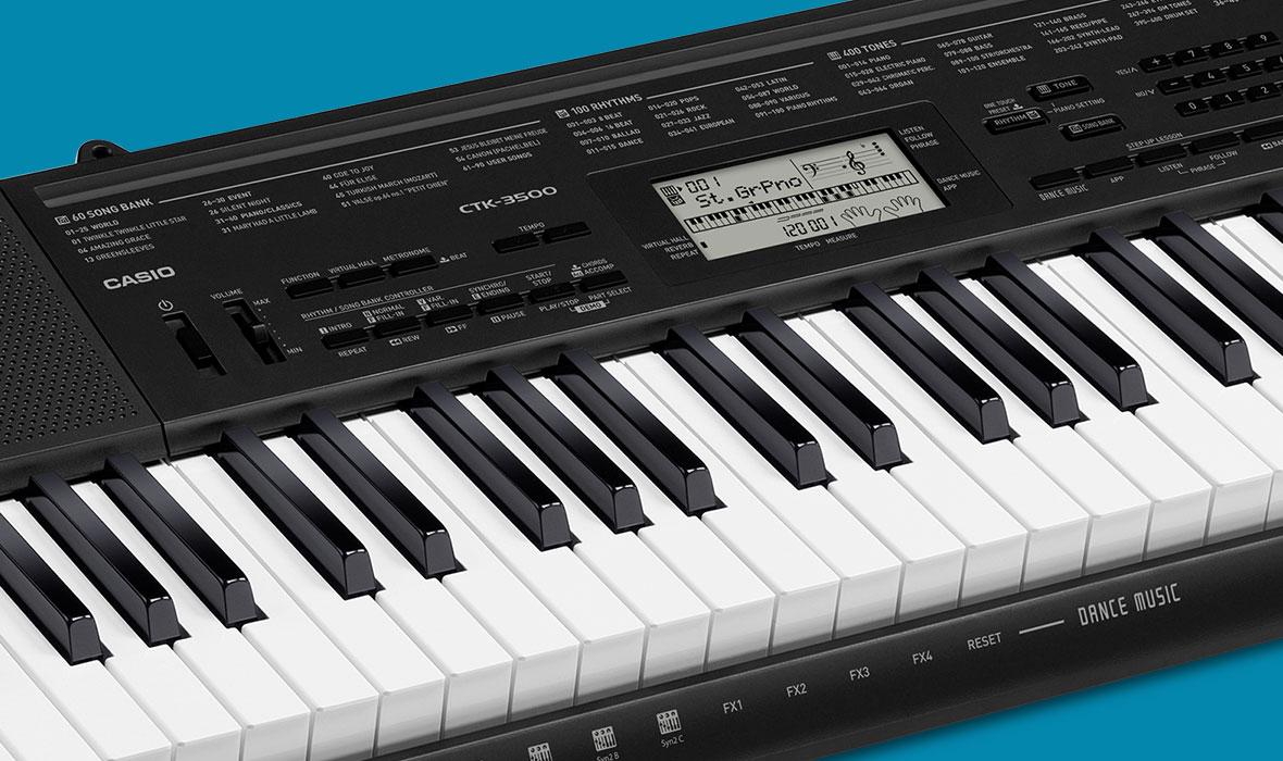 CASIO Standard Keyboards | CASIO Music