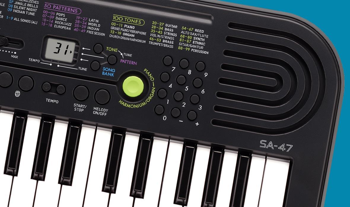 SA-46   47   CASIO Music