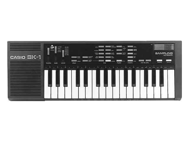 Sampling Keyboard <nobr>SK-1</nobr>