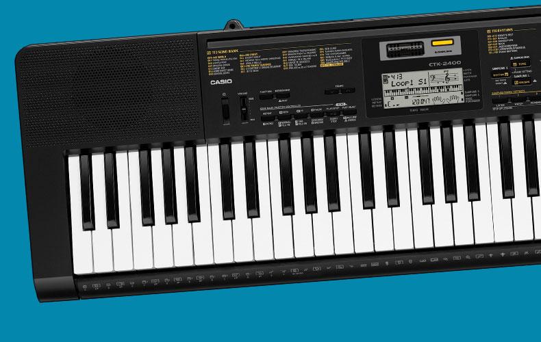 casio standard keyboards ctk 2400. Black Bedroom Furniture Sets. Home Design Ideas