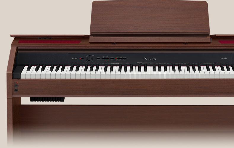casio privia digital pianos px 860. Black Bedroom Furniture Sets. Home Design Ideas